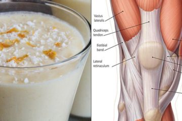 6-Ingredient Smoothie to Strengthen Up Knee Tendons & Ligaments