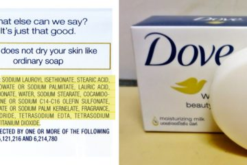 """Dove's """"Real"""" Beauty Products Are Filled with Cancer-Causing Chemicals, Fake Dyes & Toxic Fragrance"""