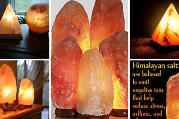 9 Reasons Why You Should Have a Himalayan Salt Lamp at Home!