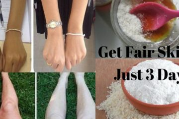 Get Fair Skin in just 3 Days with this Skin-Whitening DIY Remedy