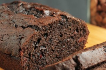Moist & Chocolate-y Zucchini Loaf Recipe with Apple Cider Vinegar & Maple Syrup