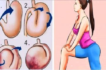 Simple Exercises that Fight Off Bloating, Improve the Digestion & Cut Belly Fat