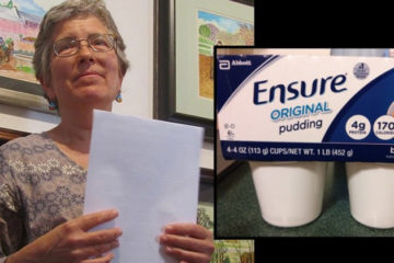 """I Would not Feed this Stuff to a Dying Animal""- Terminal Hospice Patient Exposes Truth about Ensure Nutrition Drinks"