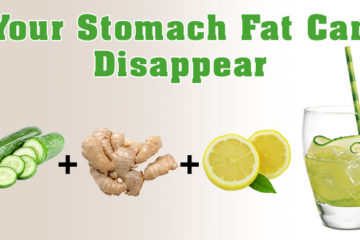 This Drink Will Help Your Stomach Fat to Disappear