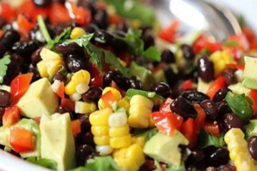 Mouthwatering Avocado & Black Bean Salad Recipe: You Will Love It