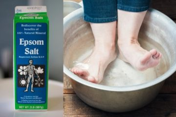 7 Good Reasons to Soak Your Feet in Epsom Salt & Instructions
