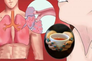 Healing Tea: Every Sip Clears Out the Mucus & Toxins from the Lungs & Reduces Inflammation