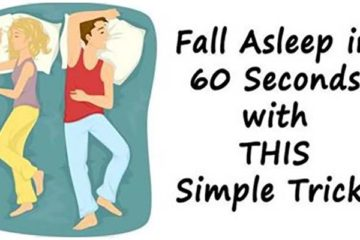 How to Fall Asleep in 60 Seconds: Easy & Beneficial Trick-Here Is How to Do It
