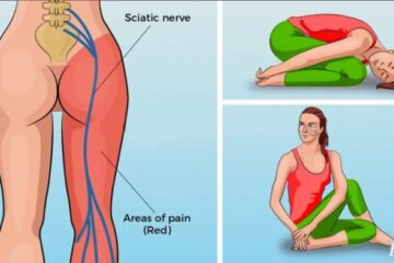 6 Simple Yoga Poses For Sciatica Pain Relief