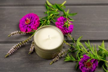 DIY Mosquito Repellent Citronella Candles