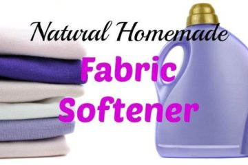 Tired of Chemicals? Try this Amazing DIY Natural Fabric Softener