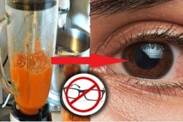 Throw Away Your Glasses & Restore Your Vision with this DIY Remedy