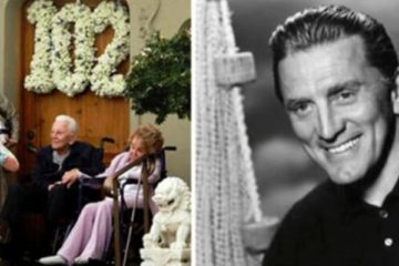 Kirk Douglas Celebrates His 102nd Birthday with His Beloved Wife, Anne Buydens, 99