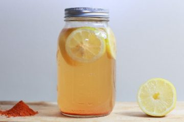 Raw Homemade Lemonade: Helps Lose Weight & Strengthens the Immunity