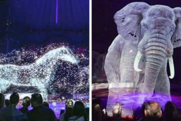A German Circuses Implements Holograms instead of Real Animals for a Cruelty-Free Experience