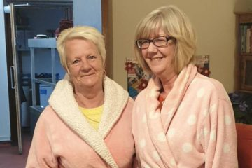 Night Shift in Nursing Home Wears Pajamas to Encourage Residents to Sleep