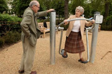 Playgrounds for Elderly Can Help Increase their Fitness & Lower Isolation
