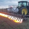 Farmers Use Flame-Throwing Tractors to Remove Pests & Weeds