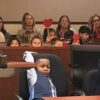 5-Year-Old Boy Calls entire Kindergarten Class on His Adoption Hearing