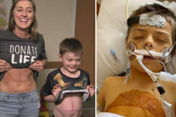8-Year-Old Boy Hugs the Nurse Who Gave Him a Part of Her Liver to Save His Life