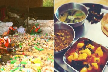 In this Indian Cafe, You can Get Free Food for Plastic Garbage