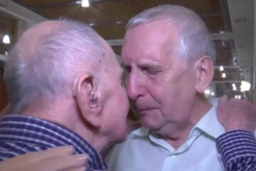 102-Year-Old Holocaust Survivor Reunites with His Nephew 80 Years Later