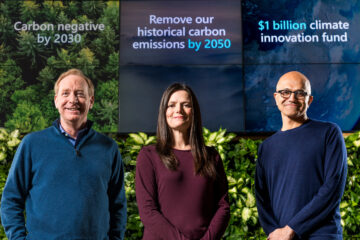 Microsoft Pledges to Become Carbon Footprint Free by 2030
