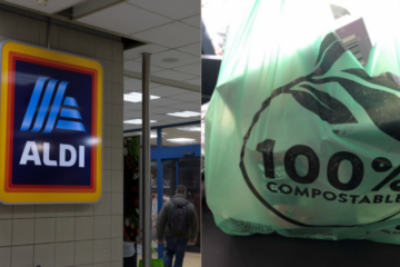 Aldi Markets Will Replace 12.5 Million Plastic Bags with Compostable Ones