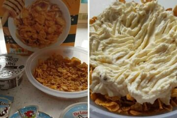 People Are Disgusted by a Diet Cheesecake Made with Cornflakes & Spreadable Cheese