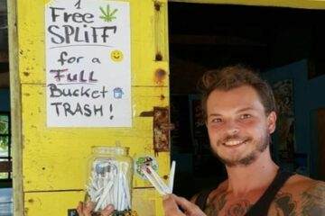 In This Jamaican Hostel, You Can Get a Free Joint for Doing some Cleanup
