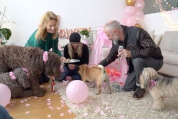 This Woman Quit Her Career & Became a Professional Dog Party Planner: Would You Do It?