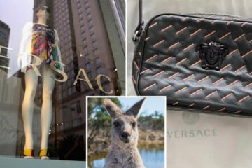 Pressure from Activists Resulted in Versace Banning Usage of Kangaroo Skin