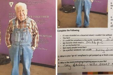 If this Doesn't Motivate You to Hit the Gym, We Don't Know what Will: 91-Year-Old Caught Working Out in Overalls & Goes Viral