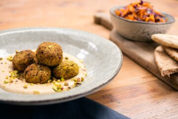 Doesn't Get any Tastier: Flavor-Rich Pistachio & Chickpea Falafel Recipe