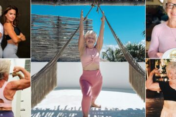 Stunning Transformation: 73-Year-Old Lady Loses 55lbs & Becomes a Fitness Instructor