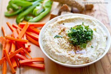Better than Hummus?! Delicious & Creamy Cauliflower Dip Recipe