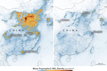 Major Decrease in Air Pollution in China amid COVID-19 Outbreak, Shows NASA Satellite Footage
