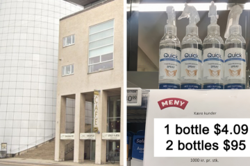 This Danish Supermarket Came Up with Great Pricing Tactic to Stop People from Hoarding Hand Sanitizers