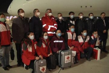 China Has Sent a Team of Experts to Italy to Help in the Fight against COVID-19