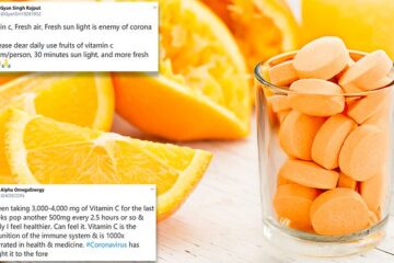 In some New York Hospitals, Vitamin C Is Given to Coronavirus Patients