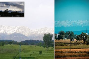 Himalayas Visible for First Time in 30 Years as Pollution Levels in India Drop