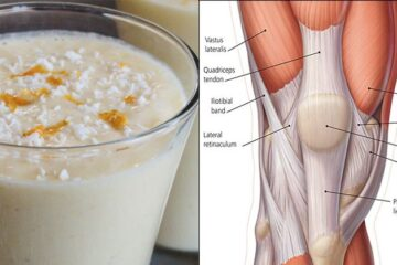 Oats, Cinnamon & Pineapple Smoothie to Reinforce Your Knee Tendons & Ligaments