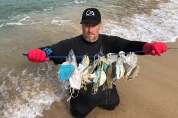 Discarded Face Masks & Gloves Rising Threat to Ocean Life, Conservationists Warn