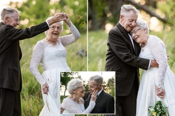 Couple Celebrates Their 60th Wedding Anniversary Wearing Their Original Outfits