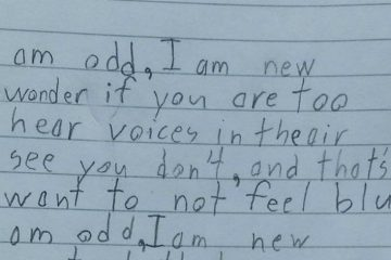 10-Year-Old Boy With Autism Gets Homework To Write A Poem And His Teacher Is At Loss For Words