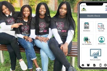 Good News Story: Nigerian Irish Teen Girls Win Prize for their Dementia App