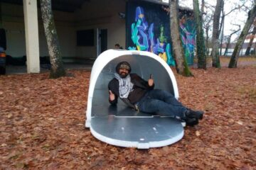 A Man Invents Igloo Shelters for the Homeless That Retain Body Heat and Keep Them Warm All Winter Long