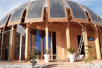 Moroccan Students Built Off-Grid Hemp House Made of Hemp & Solar Panels