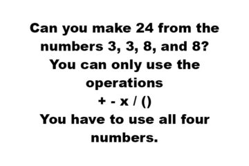 Can You Solve this Sneakily Difficult Math Brain Teaser?
