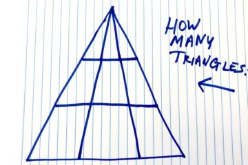 How many Triangles?-The Puzzle that Is Confusing the Internet!